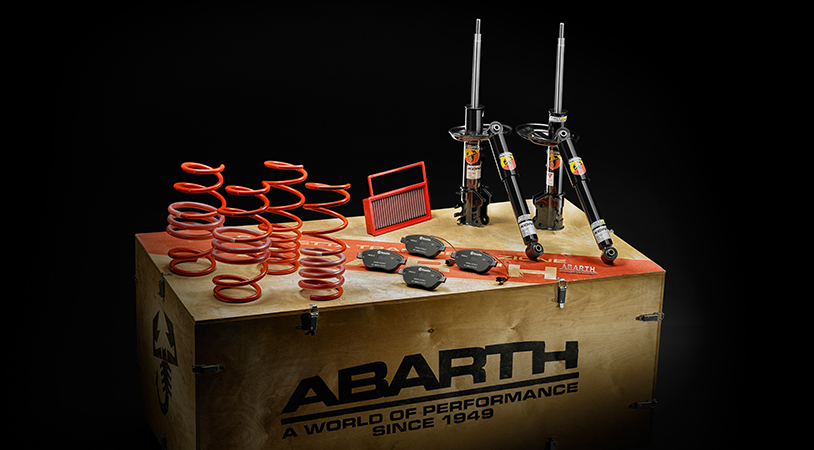 Abarth performance upgrades